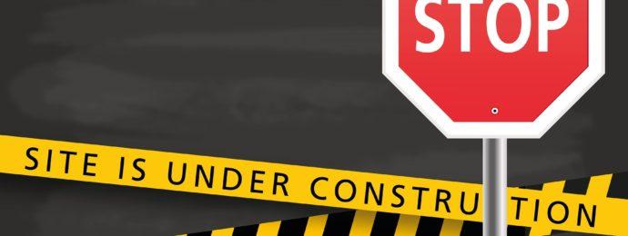 Under construction vernieuwde website