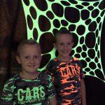 Neon blacklight party versiering aankleding.